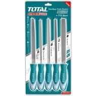 Набор напильников Total 200 mm, 5 шт (THT918516)