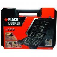 Набор бит, головок торцевых и сверел Black&Decker 129 предметов (A7211)