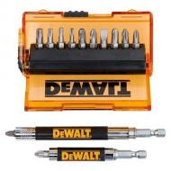 Набор бит Dewalt магнитный держатель, 14 предметов (DT71502)