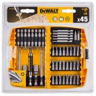 Набор бит Dewalt магнитный держатель, 45 предметов (DT71518)