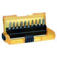 Набор бит Dewalt Extra Grip Pz/Ph/T, магнитный держатель, 11 предметов (DT7916)