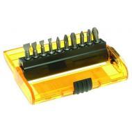 Набор бит Dewalt Extra Grip Pz/Ph, магнитный держатель, 11 предметов (DT7915)