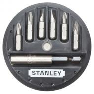 Набор бит Stanley Sl, Ph, Pz, магнитный держатель, 7 предметов (1-68-737)