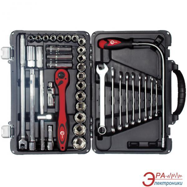 Набор инструментов Intertool 39 предметов (ET-7039)