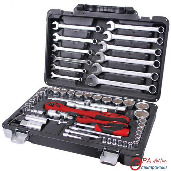 Набор инструментов Intertool 61 предмет (ET-6061)