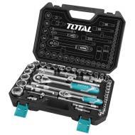 Набор инструментов Total 1/2, 1/4 44 предмета (THT421441)