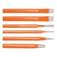 Набор зубила, пробойник, добойник, керн NEO Tools 6шт (33-061)