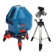 Нивелир лазерный Bosch GLL 3-15X + Штатив BT 150 + Выравниватель (0.601.063.105)