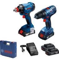 Набор электроинструментов Bosch GDX180-LI + GSR 180-LI (0.601.9G5.222)