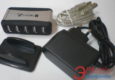 USB HUB Lapara LA-UH7315 (с блоком питания)
