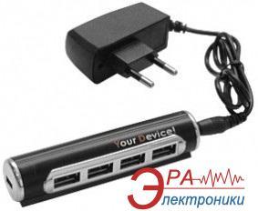 USB HUB Your Device PUH2032A с блоком питания