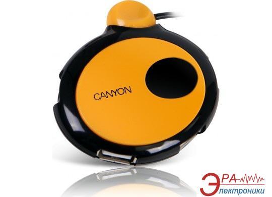 USB HUB Canyon CNR-USBHUB10B Black/Orange