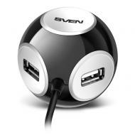 USB HUB Sven HB-444 Black