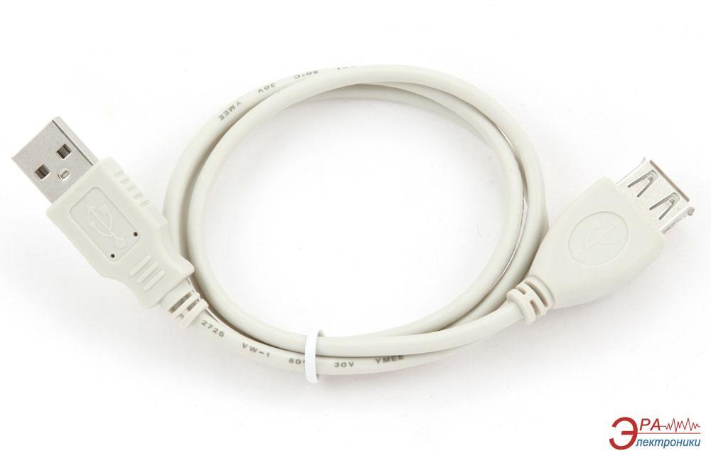 Кабель Gembird USB 2.0 AM/AF 0,75m (CBL-USB2-AMAF-75CM)