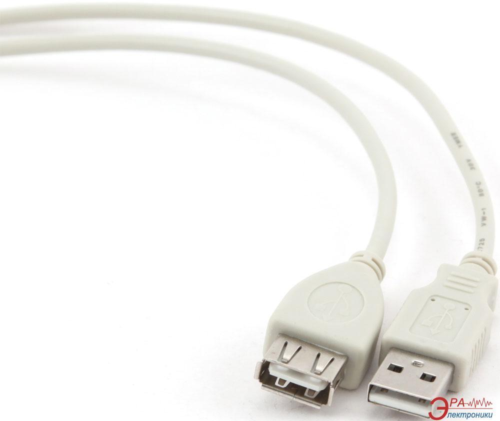 Кабель Gembird USB 2.0 A-папа/A-мама 3m (CBL-USB2-AMAF-10)