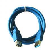 Кабель Atcom USB 3.0 AM/AF 3.0m blue (6149)