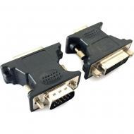Переходник Cablexpert DVI-A - VGA 15-pin (A-VGAM-DVIF-01)