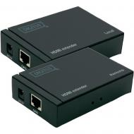 Кабель Digitus extender over UTP 50m Black (DS-55100)