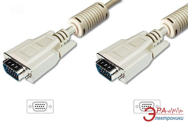 Кабель Digitus VGA (HDDB15M/M) 20m white (AK-310103-200-E)