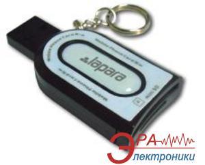 Кардридер Lapara LA-122CR black (SIM, microSD) All in 1