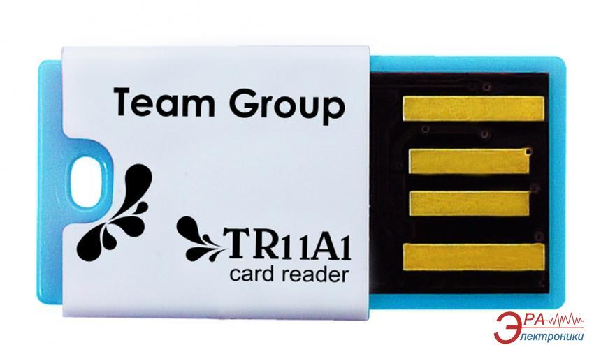 Кардридер Team TR11A1 Blue (T11A1L01)
