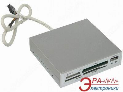Кардридер Gembird FDI2-ALLIN1-S Silver (FDI2-ALLIN1-S)