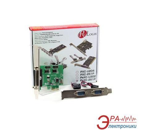 Контроллер ProLogix PCI-E COM(RS232)/LPT (PeXC-2S1P)