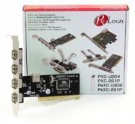 Контроллер ProLogix PCI 4xUSB 2.0 (PXC-U204)