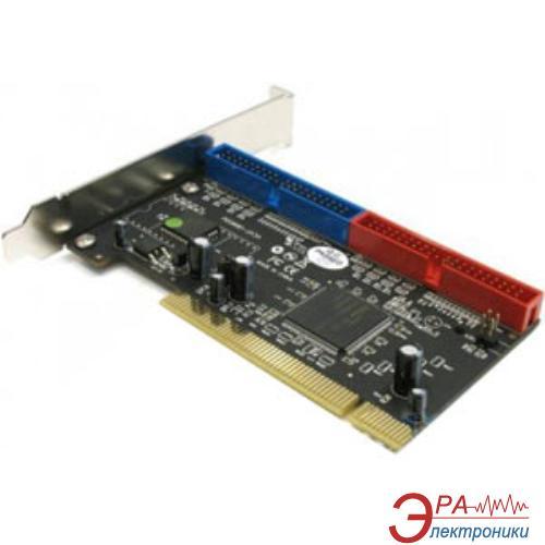 Контроллер Ewel PCI Card IDE ATA 133 2ports