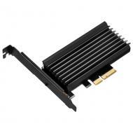 Адаптер Silver Stone PCIe x4 -> SSD m.2 SATA + NVMe Heatsink (SST-ECM24)