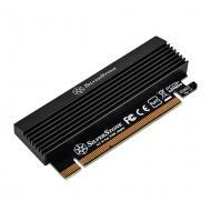 Адаптер Silver Stone PCIe x4 -> SSD m.2 SATA + NVMe Thermal Solution (SST-ECM23)