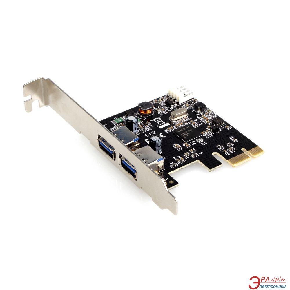 Контроллер Gembird PCI-USB 3.0 (UPC-30-2P)