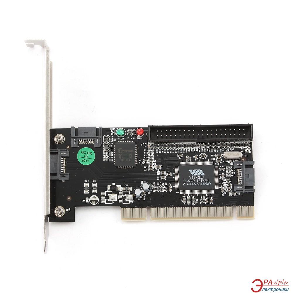 Контроллер Gembird PCI-SATA 3 (SATA-3)