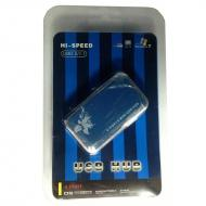USB HUB Atcom TD707 Blue (15273)