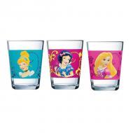 Набор стаканов Luminarc Disney Princess Royal 3x160 ml (J3996)
