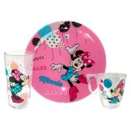 Набор посуды Luminarc DISNEY PARTY MINNIE 3 пр. (L4877)