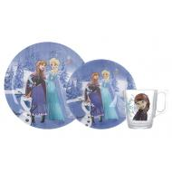 Набор посуды Luminarc DISNEY FROZEN WINTER MAGIC (N5277)