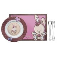 Набор посуды Tramontina BABY Le Petit Pink 4 предмета (64250/685)