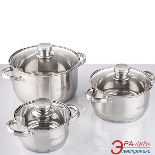 Набор посуды Maestro 6 предметов (MR-2220-6L)