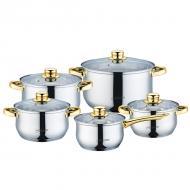 Набор посуды Maestro 10 предметов (MR-2006-10)