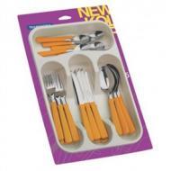 Набор столовых приборов Tramontina NEW KOLOR Orange 25 предметов (23198/475)