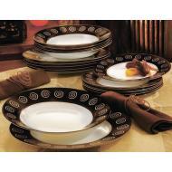 Сервиз столовый Luminarc Sirocco Brown 18 предметов (G4134)