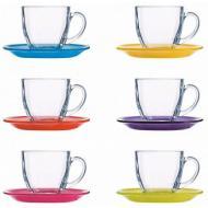 Сервиз чайный Luminarc CARINA RAINBOW 6x220 ml (N4217)