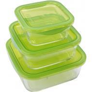 Набор контейнеров Luminarc KEEP'N BOX 380ml, 770ml, 1220ml (N0018)