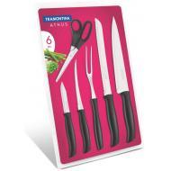 Набор ножей Tramontina ATHUS black 6пр. (23099/090)