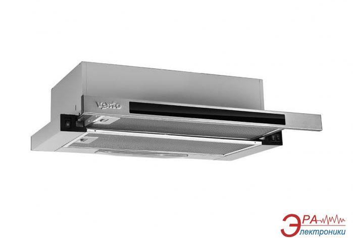 Вытяжка Ventolux GARDA 60 BK/X (650)