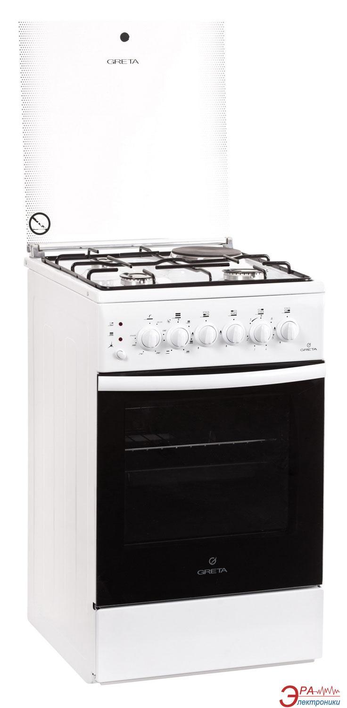 Плита Greta 1470-ГЭ-00 White