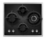Варочная поверхность Ventolux HG640-F1G CEST (BLACK/INOX)