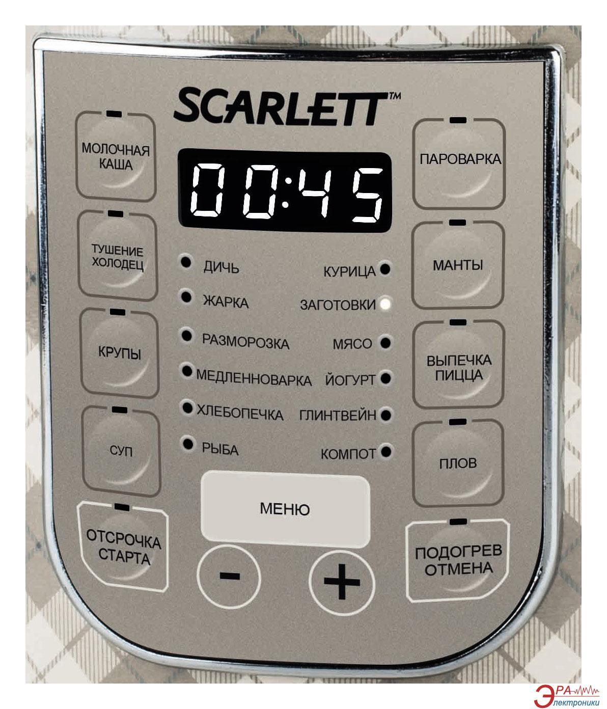 Рецепты для мультиварки scarlett sc 410 рецепты