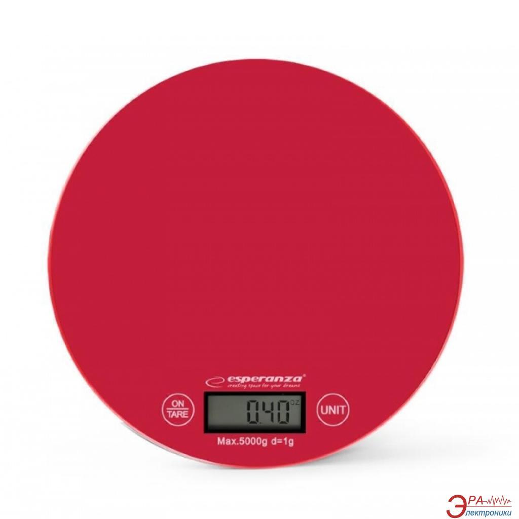 Кухонные весы Esperanza EKS003R Red
